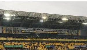 Rudolf-Harbig-Stadion. Hexenkessel?