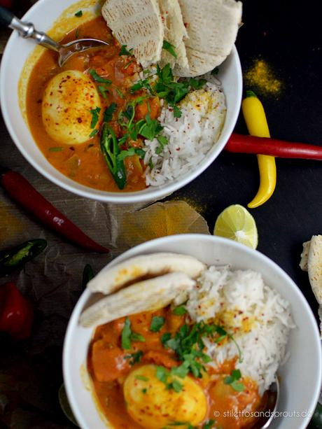 Indisches Egg Curry