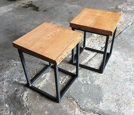Diy Nachttisch Selber Bauen Aus Alten Holzbohlen