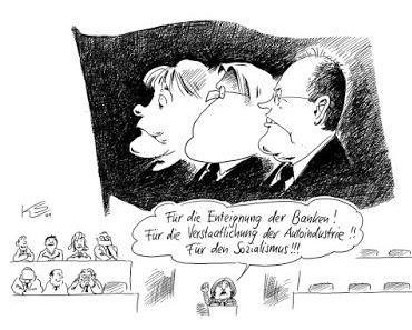 Merkel fordert staatlich gelenkte Wirtschaft