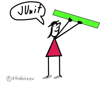 Rätsel des Tages: Warum läuft der JUnit 5 Test nicht und zeigt eine Message Box an?