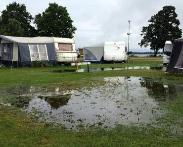 Faltcaravan-Abbau bei Regen – 10 Top-Tipps