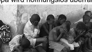 Menschenmassenvermehrung nicht verhindert, bekämpft auch keine Fluchtursachen Armut