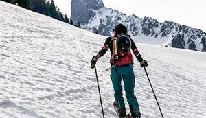 Großwand: schönste Skitour Gosaukamm