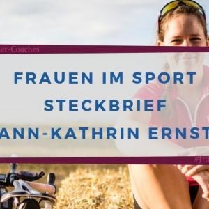 Steckbrief Ann-Kathrin Ernst #frauenimsport