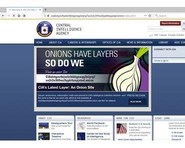 Die CIA ist ab sofort im Darknet zu erreichen