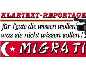 Die Migration wird unbezahlbar werden, Großfamilien mit mehreren Ehefrauen und vielen Kindern sprengen den Sozialstaat