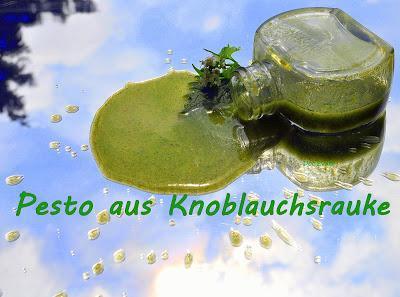 Pesto aus Knoblauchsrauke
