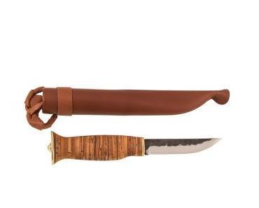 Vorgestellt das Kero Lappland Messer Näver