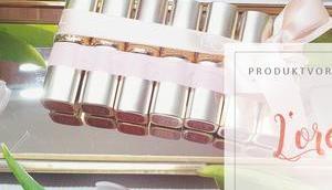 L'Oreal Color Riche Lippenstifte Swatches
