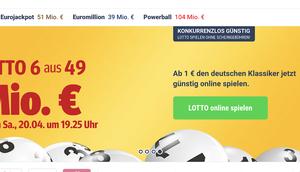 LOTTO.de Alternativen können Lotto oder Eurojackpot günstiger schneller gespielt werden?