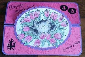 Geburtstag pink