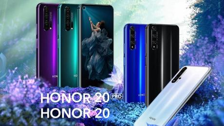 Honor 20 und Honor 20 Pro sind offiziell, ab 499 Euro geht's los