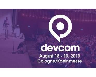 Call-for-Papers: devcom vom 18. bis 19. August 2019 in Köln