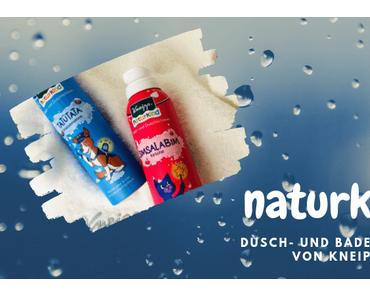 naturkind  – Dusch und Badeschaum von Kneipp®