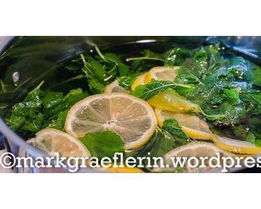 Zitronenmelisse Sirup – das Remake