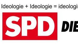 Ideologie nicht retten, auch Zusammenlegung ideologischen Parteien