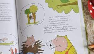 Pelz-Tausch Tiere Wald noch nackig waren