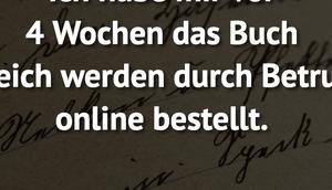 """habe Wochen Buch """"Reich..."""
