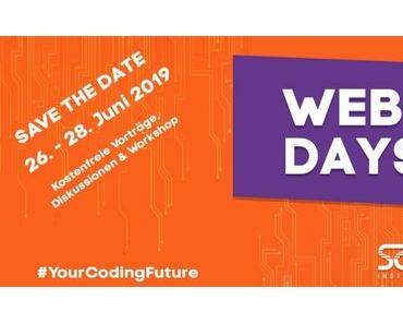 Kostenlose Seminare am SAE Mediencampus München: SAE Web-Days vom 26. bis 28. Juni 2019