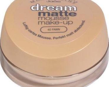 Haul: Maybelline Dream Matte Mousse Make-up