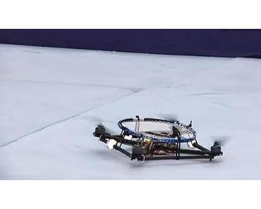 Fliegende Tennis-Roboter