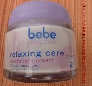 Bebe relaxing care day and night cream