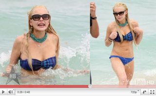 Lindsay Lohan beginnt Hausarrest wegen Diebstahl