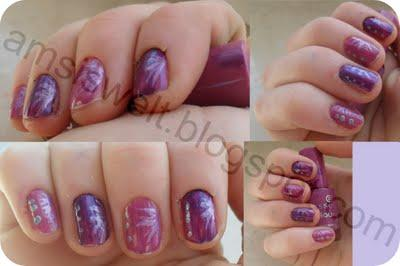 [Nageldesign] Purple Berry :D