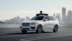Volvo Uber präsentieren selbstfahrendes serienreifes Fahrzeug