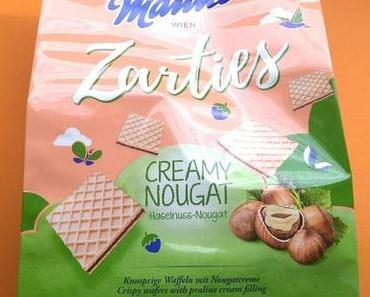 [Werbung] Manner Zarties Creamy Nougat