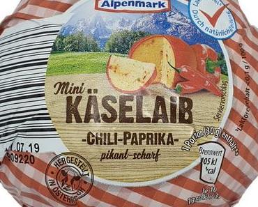 ALDI - Alpenmark Mini Käselaib Chili-Paprika