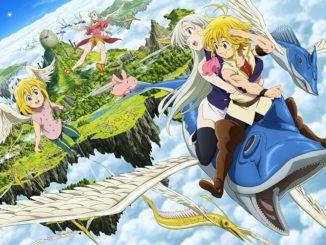 The Seven Deadly Sins: Prisoners of the Sky – So sieht das Cover aus