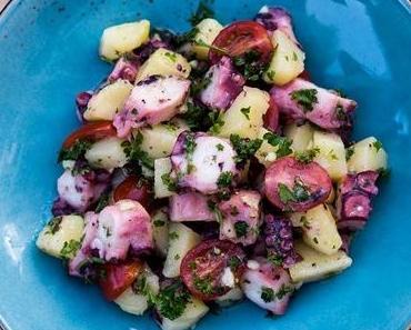 Kroatischer Oktopus Salat