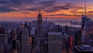 Stromausfall York City: Manhattan Dunklen