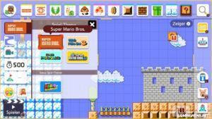 Super Mario Maker Test Nerd Jump'N'Run Himmel
