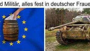 Glosse Merkels Frauen-Rochade