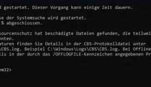 Falsche Fehler beim System File Check Windows