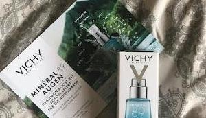 Vichy Minéral Auge Werbung