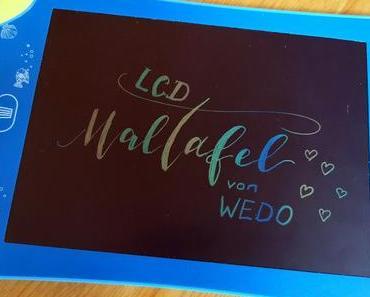 LCD Maltafel von WEDO - Das Zeichen-Tablet für kreativen Schreib- und Mal-Spaß + Verlosung