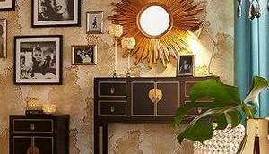 Gold Silber Wohnen Luxus Glamour