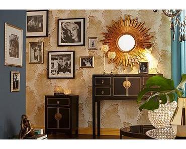 Gold und Silber – Wohnen in Luxus und Glamour