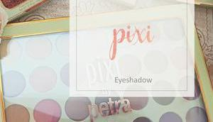 Pixi Dream Shadow Palette Glitter-y Quad Review Swatches