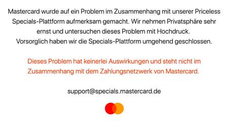 Mastercard Priceless – Die komplette Datenleak Liste