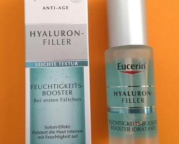 [Werbung] Eucerin Hyaluron-Filler Feuchtigkeits-Booster