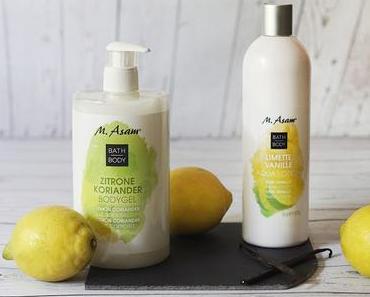 M. ASAM Körperpflege Limette & Zitrone im Mix