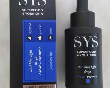[Werbung] SYS Anti Blue Light Drops + Moisturizing Cream