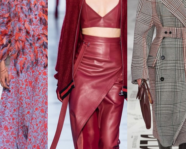 Fashion Forecast - Herbst/Winter 2019
