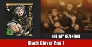 Review: Black Clover Box 1   Blu-ray