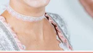 Choker Kette: Schmuck selber machen Spitzenband